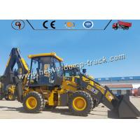 Buy cheap 65kw 2.5 Ton Small Size Backhoe Wheel Loader Excavator With Yuchai Engine from wholesalers