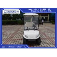 Wholesale 6V /170Ah Free Maintain Battery Electric Golf Club Cart With PC Windshield from china suppliers