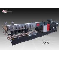 Wholesale Automatic Plastic Extrusion Equipment / 70mm Twin Screw Extruder Machine from china suppliers