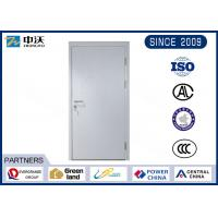 Wholesale Durable Gray 1 Hour Fire Rated Door , 25MM Fire Seals Fire Rated Steel Door from china suppliers