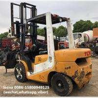 Wholesale used 3ton tcm forklift FD30T7 originally made in japan in 2010  low working hrs  2000-4000 hrs from china suppliers