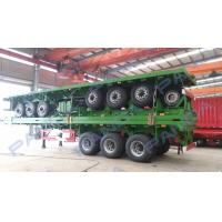 Wholesale PANDA New Design 3-axle 20ft 40ft flatbed container truck trailer from china suppliers