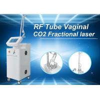China White CE Tighten Skin Fractional Co2 Laser Treatment For Stretch Marks , 36 Months Warranty on sale