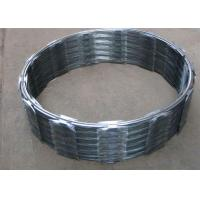 Wholesale Hot Dip Galvanized Barbed Wire CBT60 , Single Coil Razor Mesh Fence from china suppliers