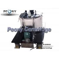 Buy cheap ISO Food Grade SS Basket Centrifuge for Cannabis Wash and Ethanol Separation from wholesalers