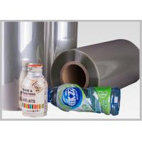 Wholesale CE Durable Bottle Label Shrinkable Plastic Film , Shrink Wrap Plastic Film from china suppliers