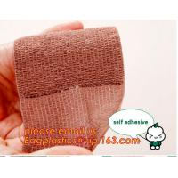 China First Aid Elastic Compression Wraps Brace Knee Bandages Medical Reusable Cotton Crepe Bandage Roll Sports Wrist Wrap on sale
