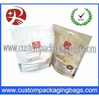Buy cheap 120 Microns Stand Up Pouches Plastic Storage Bags With Zippers For Dried Food from wholesalers