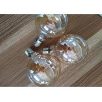 Wholesale G125 8w Led Filament Bulb Triac Dimmable 100lm / W Avoiding Short Circuit from china suppliers