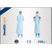 Wholesale Dark Green Disposable Surgical Gown Non Woven  Lab Gowns Lightweight Blood Proof from china suppliers