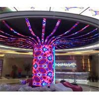 Buy cheap Indoor Flexible LED Display Curved LED Screen Soft Modules from wholesalers