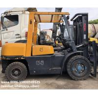 Wholesale used 4.5ton tcm forklift FD45T8 originally made in japan ,worked for 2000 hrs, 3m lefting height from china suppliers