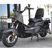Wholesale 1.4 Gallon Gas Moped 4 Stroke 150cc Adult Motor Scooter from china suppliers