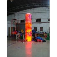Buy cheap 5m Customized Color Advertising Helium Balloons Inflatable Pillar With Light For Party from wholesalers