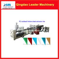 Wholesale Polycarbonate multiwall Hollow sheet making machine from china suppliers