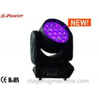 Wholesale Zoom Moving Head LED Lights 19 Pcs*12w 4 In 1 RGBW High Brightness Osram LEDs  X-65 from china suppliers
