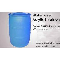 Wholesale Acrylic Emulsion water based grade Translucent milky white MOQ 2400kgs from china suppliers