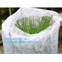Wholesale Non-Woven Vegetation Antifreeze Plant Drawstring Shrub Cold Jacket Garden Protection Bag Winter Tree Protective Cover from china suppliers