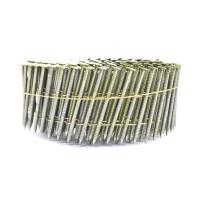 Wholesale 2.3mm*65mm Diamond Point Ring Shank Pallet Coil Nails With Flat / Checked Head from china suppliers