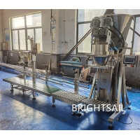 Buy cheap Double Screw Dry Powder Filling Machine 2kw PLC Control from wholesalers