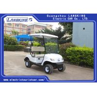 China 2 Person Mini Electric Golf Carts With Light / Motorised Golf Buggy With Cargo Box on sale