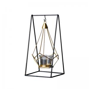 Wholesale Modern Minimalist Wind Cradle Hanging Candle Holders With Metal Frame from china suppliers