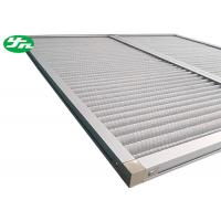 Wholesale Aluminum Wire Mesh Industrial Air Filters , Dust Panel Pleated Media Filter HVAC from china suppliers