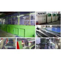 Quality Knitting Non - Woven Electrostatic Flocking Equipment Available Working  Width 160cm for sale