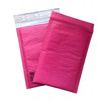 Wholesale Red Kraft Paper Padded Shipping Envelopes , Self Sealing Shipping Bubble Mailers from china suppliers