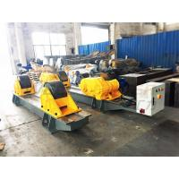 Wholesale 120 Ton Pressure Vessel Tank Turning Rolls Conventional Bolt Adjustable Steel Rollers from china suppliers