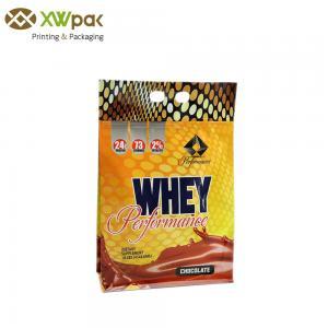 Food Grade Ziplock Custom Food Packaging Bags Air Proof For Nutrition Powder