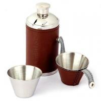 Wholesale Stainless Steel Hip Flask with the Capacity of 6oz from china suppliers
