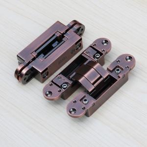 Buy cheap 3d adjustable hinges concealed for interior wood door 180 degree hidden door from wholesalers