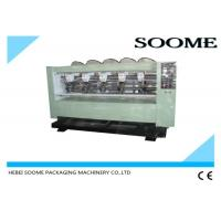 Wholesale Left - Right Moving Type Corrugated Paper Cutting Machine , Cardboard Slitting Machine from china suppliers