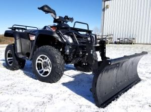 Wholesale 300cc 4X4 Water Cooled ATV Four Wheeler With Snow Plow from china suppliers