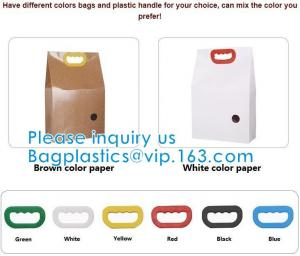 Wholesale Bio Handle Eco Kraft Waterproof handle Rice Packing Food Packaging, Such As Rice, Tea Leaves, Dried Nuts, Corns from china suppliers
