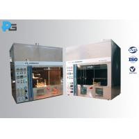 Wholesale Horizontal / Vertical Flame Electrical Testing Machine 50W 500W IEC60695-11-4 / 3 from china suppliers