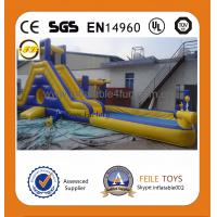 China 2014 hot sale commercial grade inflatable water slides on sale
