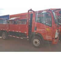 Buy cheap High Attendance HOWO Light Tipper Truck With 4200*1810*400mm Cargo Body from wholesalers