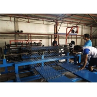 Wholesale Fully Automatic 11kw 1.5mm Chain Link Fence Making Machine from china suppliers