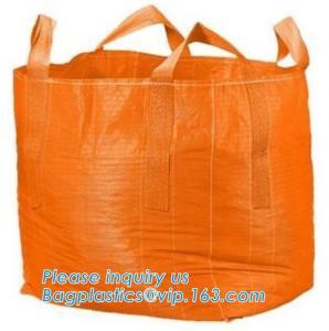 Wholesale Mesh Breathable Firewood U Type Fibc Bulk Bags Bulk Big Woven Fibc Bags Mesh Jumbo Bag For Firewood Potato from china suppliers