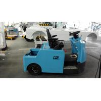 Wholesale Blue Baggage Towing Tractor Carbon Steel Material With Lead Acid Battery from china suppliers