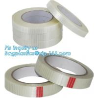 Wholesale Drywall Mono Line Fiberglass Scotch Mounting Tape Bi-Directional Filament woven coated Fiberglass Tape Joint Tape from china suppliers
