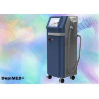 Wholesale Women 808nm Diode Laser Hair Removal Machine 10Hz 10 - 1500ms Pulses FCC from china suppliers