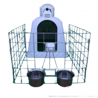 Wholesale Food Grade L220cm Polyethylene Dairy Calf Hutches from china suppliers