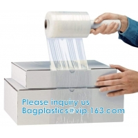 Wholesale Stretch Wrap Film Industrial Strength Clear Cling Plastic Pallet Supplies | Durable Self-Adhering ● Packing ● Moving from china suppliers