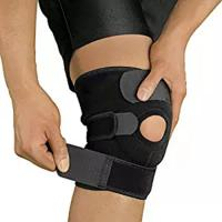 Wholesale Open Patella Compression Knee Brace Supports For Injury Recovery Adjustable Strapping Breathable from china suppliers
