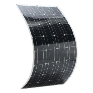 China Hovall 100 Watt 12 Volt PET Laminated Flexible Solar Panel on sale