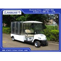 Wholesale 2 Seater Electric Utility Carts , Electric Food Cart With Customized Cargo Box from china suppliers