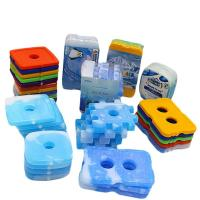 Buy cheap Plastic Shell Cold Ice Gel Packs , Cool Box Freezer Packs Environmental - from wholesalers